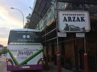 Autobuses Juantxu en Restaurante Arzak
