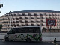 autobuses juantxu visita san mamés